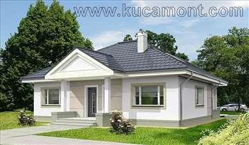 Montažna kuća Domo 44 - Montažne kuće KućaMont