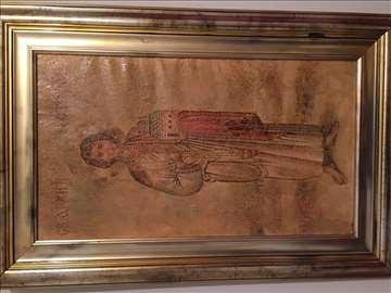Sveti Stefan ulje na platnu