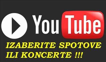 Youtube video ili audio mixevi