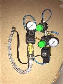 Regulacioni El. ventili sa manometrom i filterom