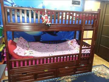 Deciji kreveti na sprat-Nekorisceni