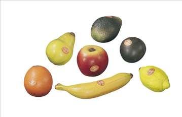 Zvečke u obliku voća - prelep poklon za najmlađe!