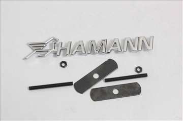 Znak za prednju resetku Hamann