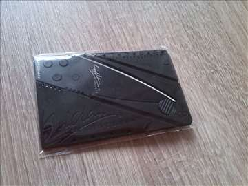 Nož kreditna kartica IanSinclair ver2