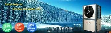 Toplotne pumpe - EVI verzija