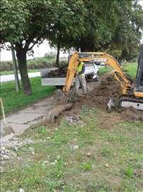 Iskop zemlje i rušenje