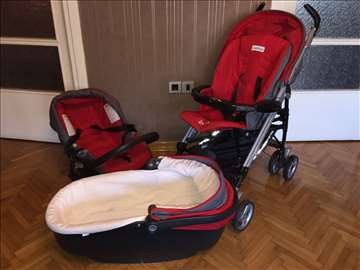 Kolica za bebe PegPerego 3u1