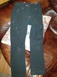 Gumirane sive pantalone 110-116 veličina 5-6 god