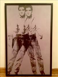 Andy Warhol - Double Elvis - hit, novo