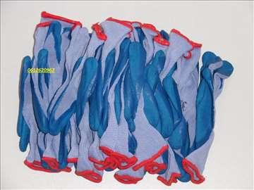 Rukavice radne plave 12 pari