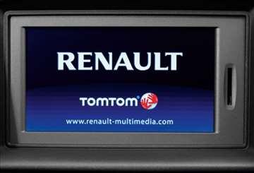 Mape evrope i Srbije za Renault TomTom