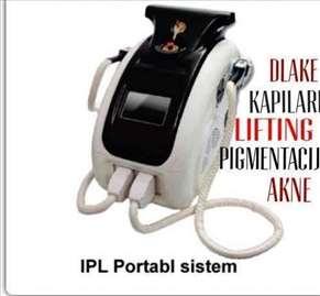 IPL trajna epilacija + 5 filtera,  garancija,obuka