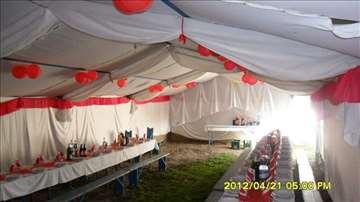 Šatori za svadbe prodajem ili menjam