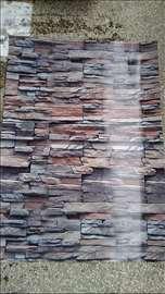 Dekorativne plastificirane uklopive tapete P= 30m