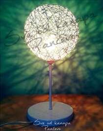 Lampe od kanapa - postolje - ručni rad