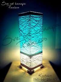 Lampe od kanapa - ručni rad