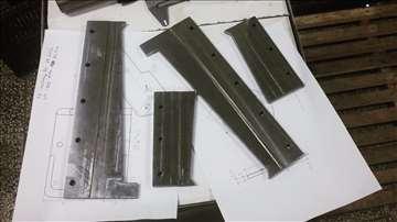 Rezervni delovi za mašine za kartonažu