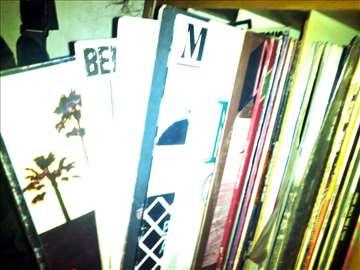 Očuvane LP ploče, domaća i strana pop rok muzika