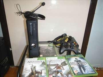 Xbox-360 S konzola - Model 1439 Black Glosy