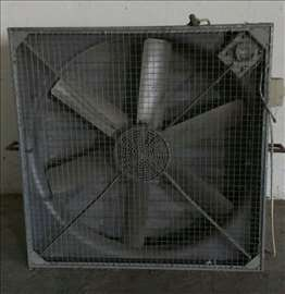 Industrijski ventilatori 130x130cm, 1,1 kW