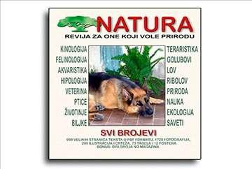 Revija Natura - svi brojevi