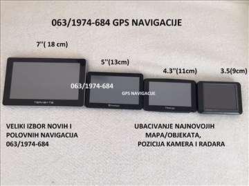 7'' GPS TB Bluetoth, FM transmiter