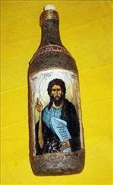 Ukrasne flaše, ručno rađene, unikati