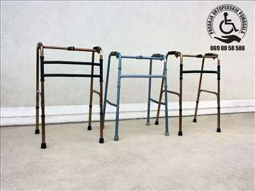 Aluminijumske fiksne i zglobne hodalice