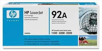 HP Toner 92A Black - C4092A, crna boja.