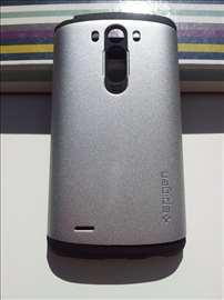 LG G3 Spigen Slim Armor maska s. siva