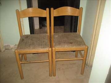 2 stolice prljave