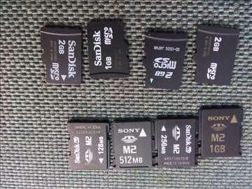 Memorijske kartice SD M2