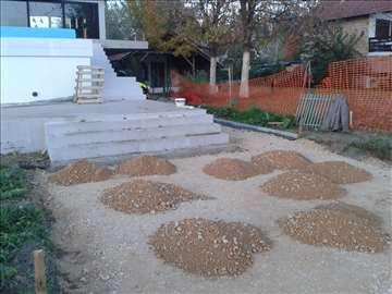 Betoniranje, stampani beton i postavka behatona