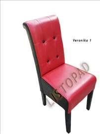 Trpezarijske stolice eko koža Veronika