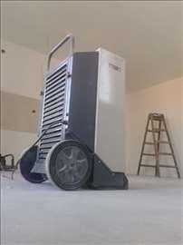 Ubrzajte radove - primenom mašina za sušenje vlage