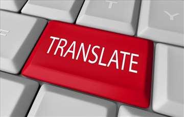 Engleski jezik prevod