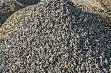 Kamen tucanik (tampon rizla) i frakcije - agregati