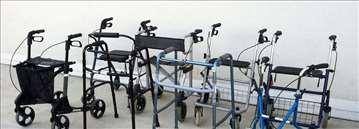 Rolator i fiksne hodalice, velik izbor - povoljno