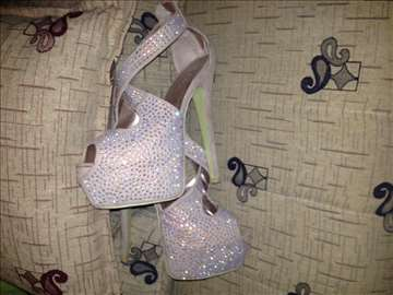 Elegantne cipele za devojke sa cirkonima 36 broj