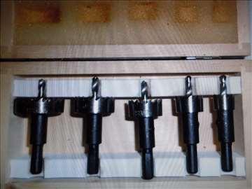 Set kružnih testera za metal 15 do 35mm