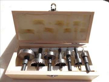 Set kruznih testera za metal 18 do 51mm