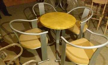 Sto i stolice za igraonicu, kafić, baštu