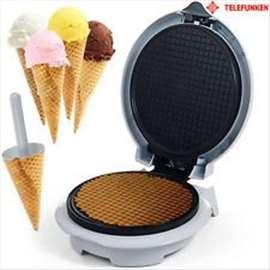 Aparat za pravljenje fišeka- korneta za sladoled