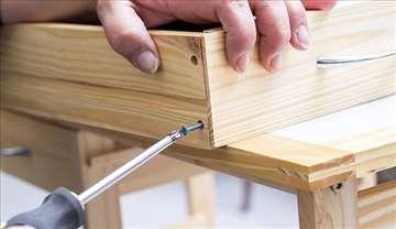 Stolar - sklapanje nameštaja i popravke