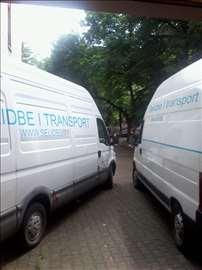 Prevoz kombi vozilima i selidbe