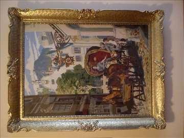 ,,Svadbene kočije'' original Vilerov goblen