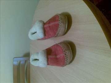 Zimske kožne papuče