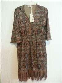 Moderna haljina sa resama - nova