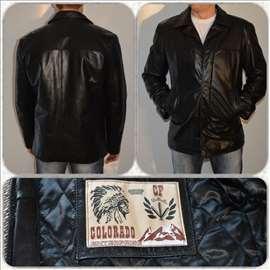 Moderna muška kožna jakna