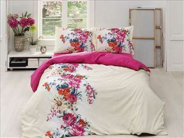 Pamučne posteljine za bračni krevet Casa di Lusso